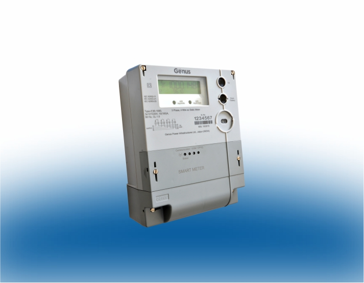 Nz Single Phase Smart Meter : Smart meter three phase genus power infrastructures ltd