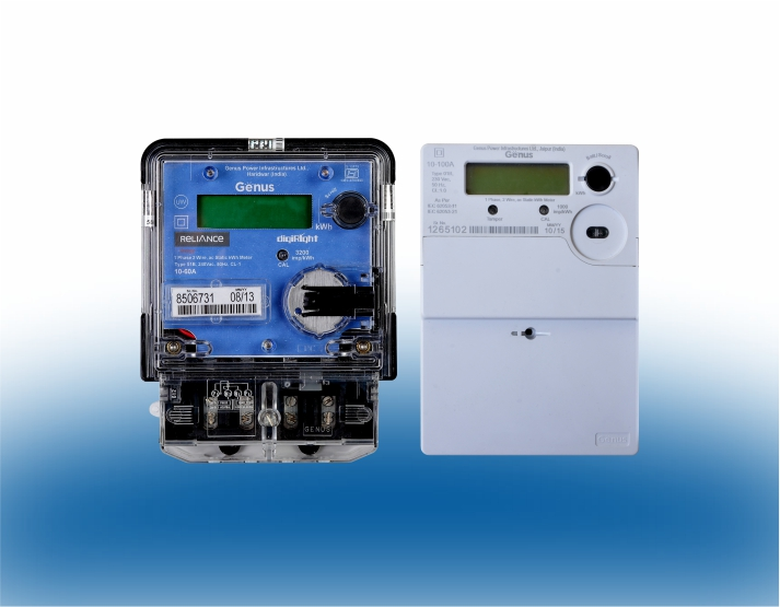 Multifunction Single Phase Meter – Genus Power Infrastructures Ltd