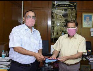 Genus power donates 50000 reusable masks